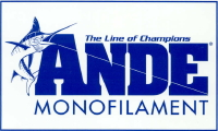 Ande Monofilament Fishing Line